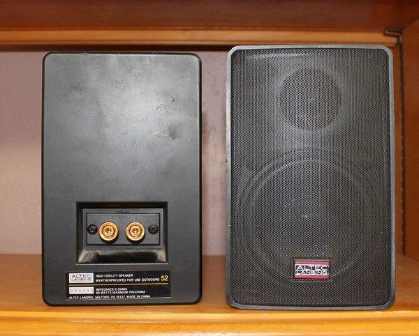 Altec Lansing Waterproof Indoor/Outdoor Speakers