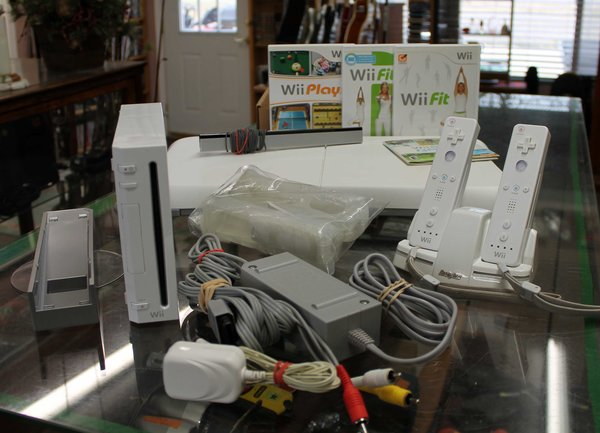 Wii Console with Fitness Package
