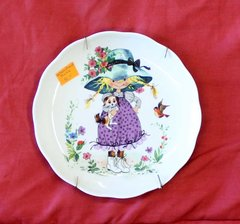 Garden Girl in Purple-Vohenstrauss Collector's Plate
