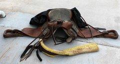 """15"""" Saddle with Saddle Bags"""