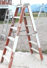 Fiberglass 6' Step Ladder