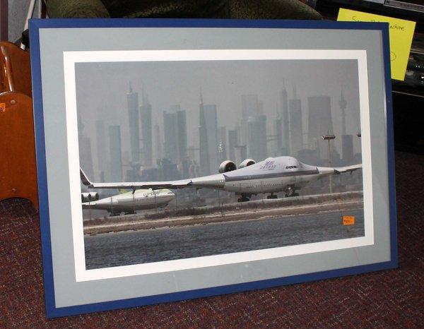 Framed Plane Photo