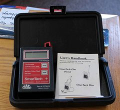 MAC Tools Ettach SmarTach Tachometer with Manual and Case