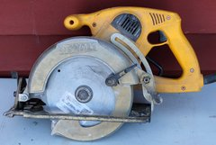 "DeWalt DW378 G 7 1/4"" High Torque Framing Saw"