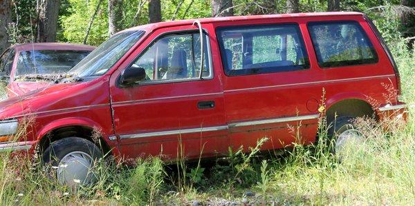 92 Plymouth Voyager-Parts Van