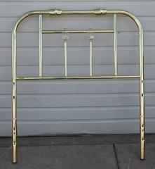 Brass Twin Headboard