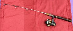 Ice Fishing Rod and Mitchell 410 UL Reel