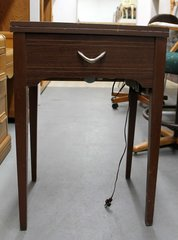 JC Penney Sewing Machine & Cabinet