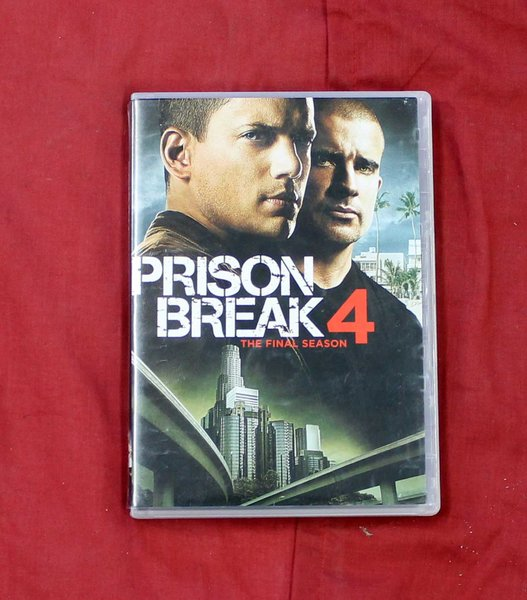 Prison Break 4 The Final Season DVD