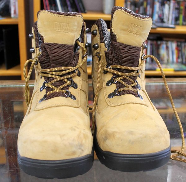 Drew 'Rockford' Waterproof Boots-Size 9.5-10