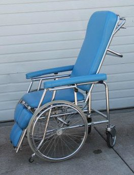 MLA Stretchair Padded Wheelchair