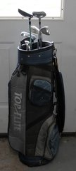 Top Flite Blue and Grays Golf Bag and Clubs