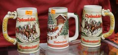Budweiser Ceramic Mugs