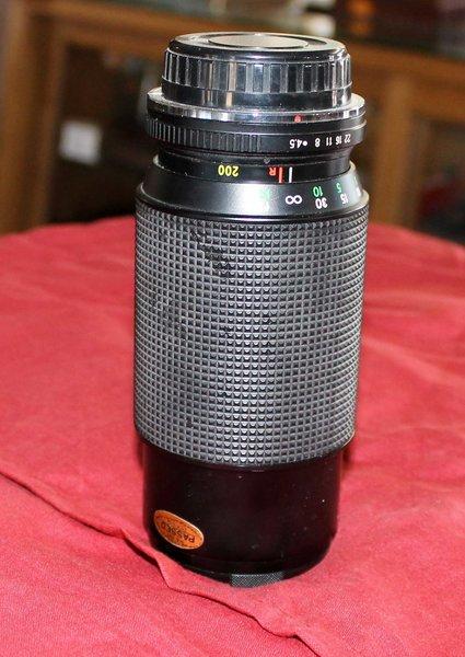 Chinon 80-200 Macro Lens