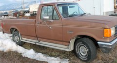 87 Ford F-150 2wd Pick Up Truck