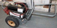 Coleman Powermate Twin Stack Contractor Air Compressor