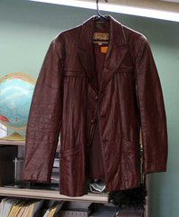 Attica Brown Leather Jacket