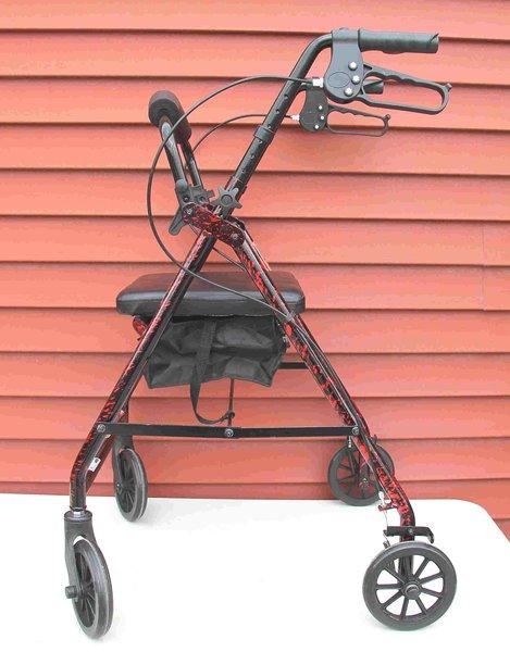 Walker with Wheels-Loaded