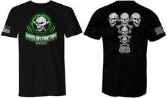 MDA Star Skull Unisex T-Shirt (Black)