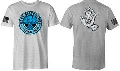 MDA Mushroom Cloud Unisex T-Shirt (Heather Grey)