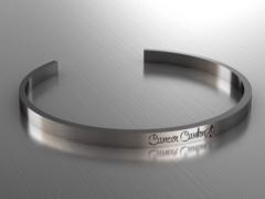 Cancer Canknot Cuff Bracelet - Silver