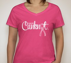 Women's V-Neck T-Shirt (Other Colors Available)