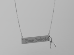 Cancer Canknot Necklace - Sterling Silver