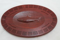 Trout Cribbage Board 4 Track