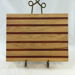 Maple and Padauk Cutting Board