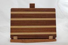 Medium Sapele and Maple Cutting Board