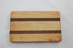 Small Maple and Sapele Cutting Board