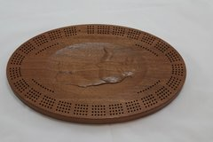 Grizzly Bear Cribbage Board 4 Track