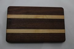 Small Sapele and Maple Cutting Board