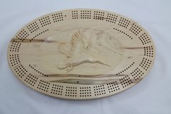 Duck Cribbage Board 4 Track