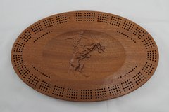 Bucking Bronco Cribbage Board 4 Track