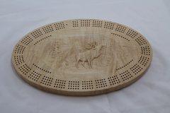 Elk Cribbage Board 4 Track