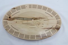 Loons Cribbage Board 4 Track