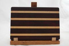 Medium Padauk and Maple Cutting Board