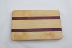 Small Maple and Purple Heart Cutting Board