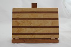 Medium Maple and Sapele Cutting Board
