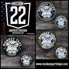 "Mission 22 (5"" & 8"") Patches"