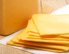 American cheese slices - 1/2 lb.