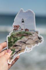Maine Decal - Maine Sticker