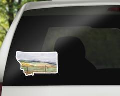 Montana Sticker - Montana Decal
