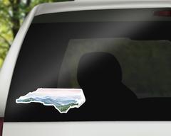 North Carolina Decal - NC sticker