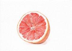 Grapefruit Art Print, 5x7