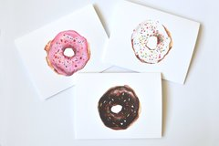 Donut Notecard Set