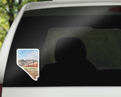 Nevada Sticker - Nevada Decal
