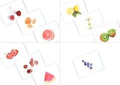 Watercolor Fruit Notecard Set