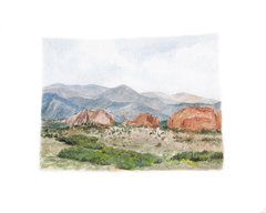 Colorado State Art Print